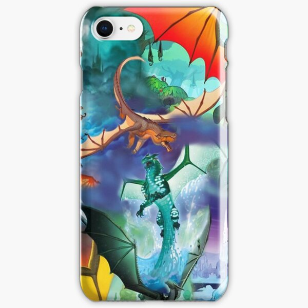 Wing of fire all dragon Pattern Background iPhone Snap Case