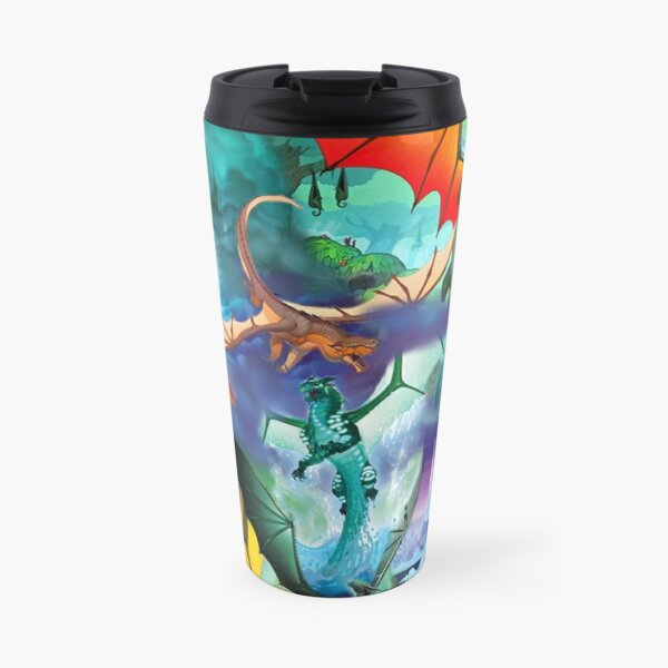 Wing of fire all dragon Pattern Background Travel Mug