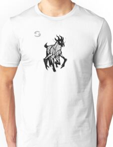 DoubleZodiac - Cancer Sheep/Goat Unisex T-Shirt