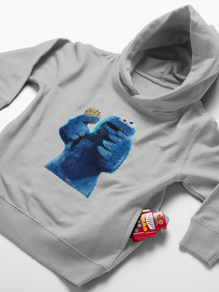 Alternate view of Monster Cookie! Toddler Pullover Hoodie