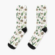 Prickly Friends Socks