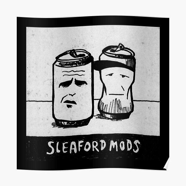Sleaford Mods Logo Poster
