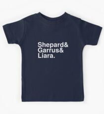 Mass Effect Names - 5 Kids Tee