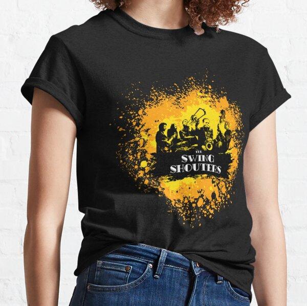 Swing Shouters - Peinture Jaune & Orange T-shirt classique
