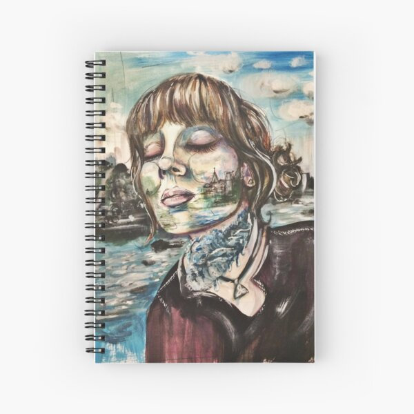 Water Me Spiral Notebook