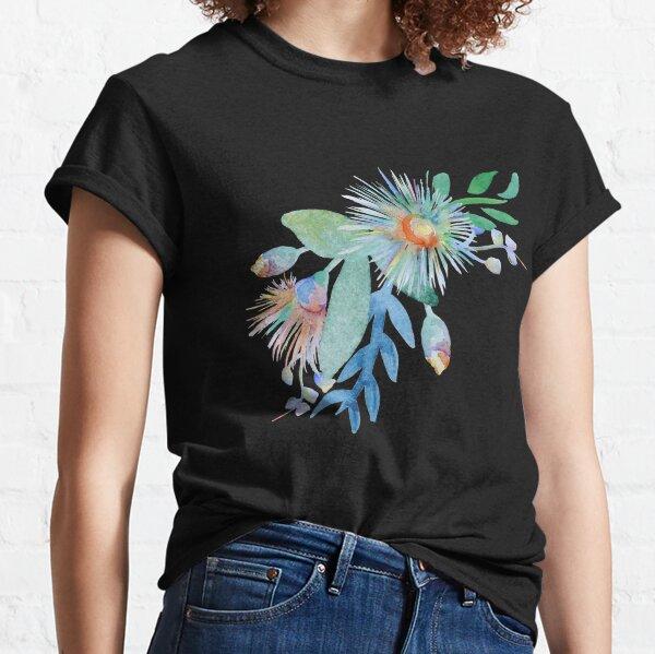 Watercolour Springtime Australian Pattern Classic T-Shirt