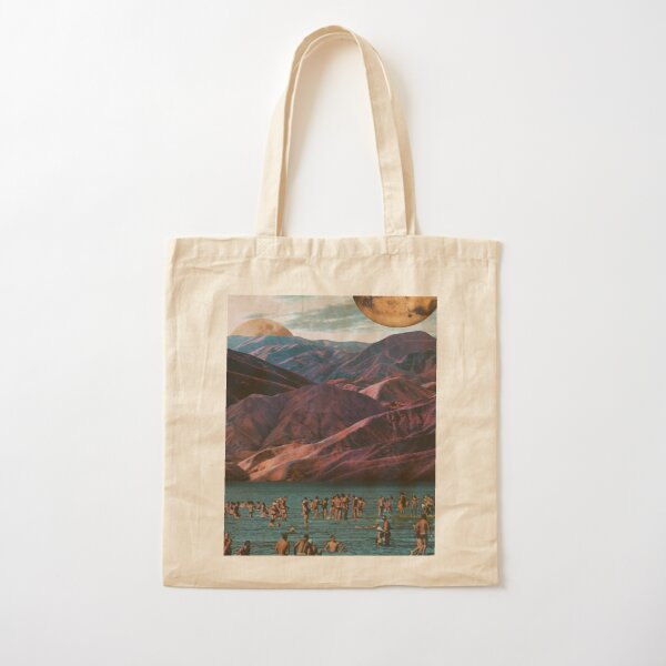 Dip Under The Moons Cotton Tote Bag