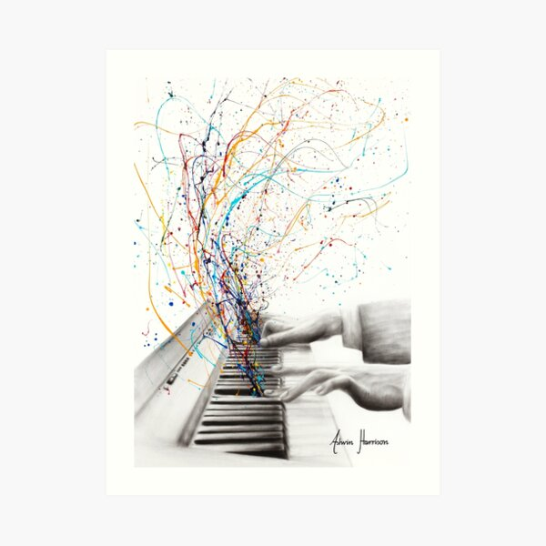 The Keyboard Solo Art Print