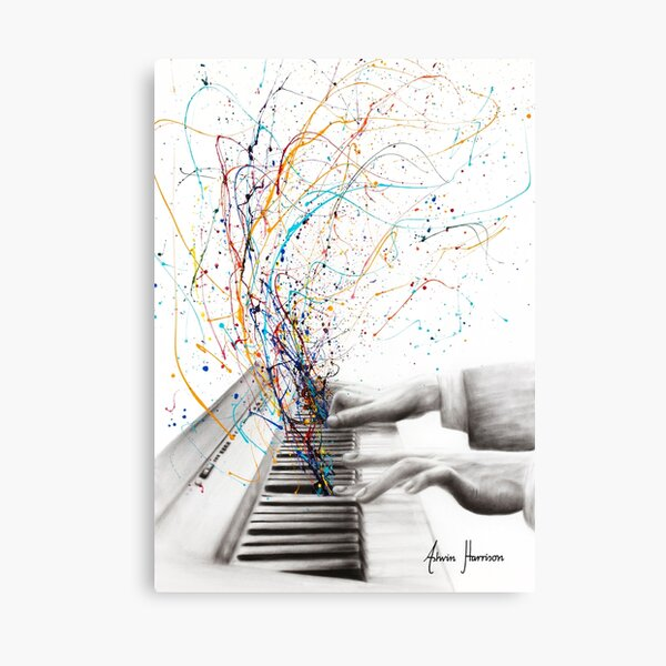 The Keyboard Solo Canvas Print