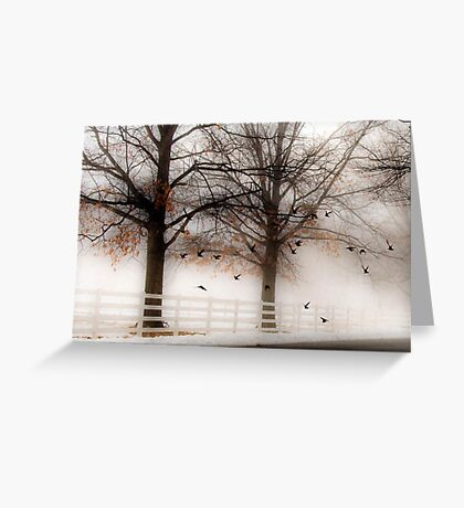 And Still the Birds Came Greeting Card