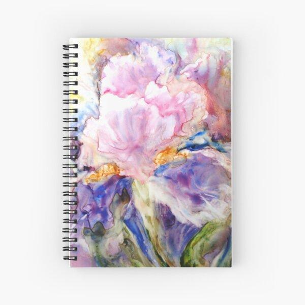Airy Iris Spiral Notebook
