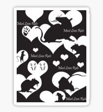 Must. Love. Rats 2011 Sticker