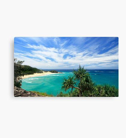 FRENCHMANS BEACH ON NORTH STRADBROEK ISLAND Canvas Print