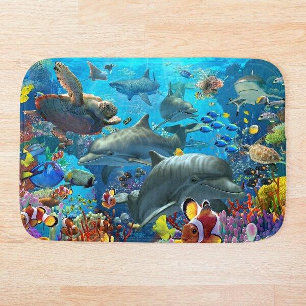 Coral Sea Bath Mat