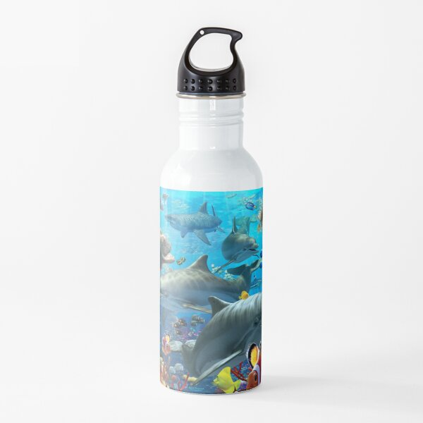 Coral Sea Water Bottle