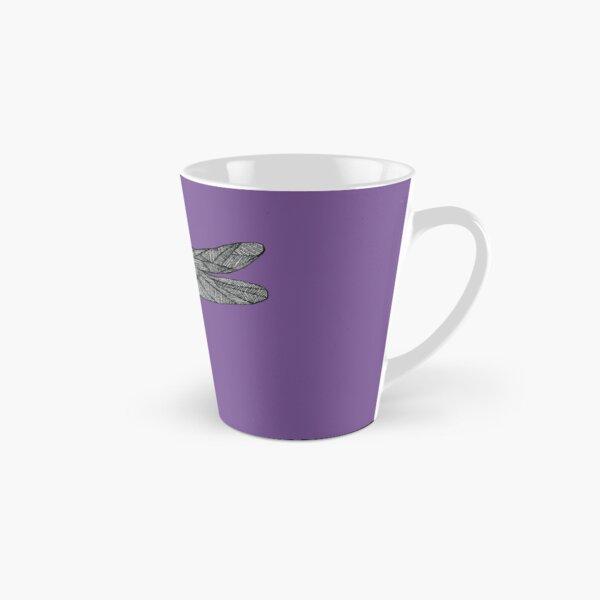 Purple Dragonfly Tall Mug