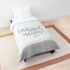 be a mermaid and make waves Comforter