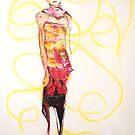 dress up doll, 2009 by Thelma Van Rensburg