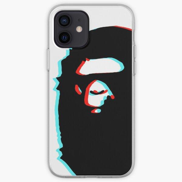 trippy bape iPhone Soft Case