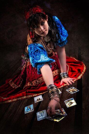Gipsy Tarot Magic by kontrastreich