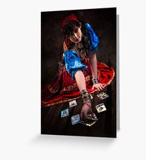 Gipsy Tarot Magic Greeting Card