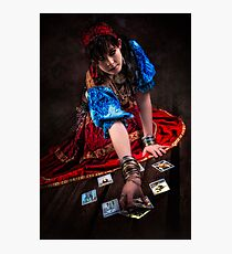 Gipsy Tarot Magic Photographic Print