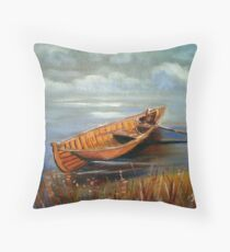 """Empty Dreams #2"" Throw Pillow"