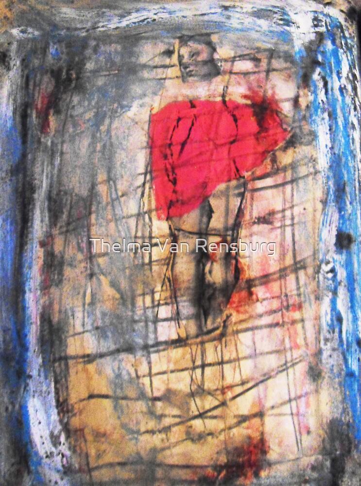 distorted body, 2010 by Thelma Van Rensburg