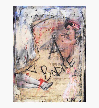 bodice, 2010 Photographic Print
