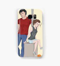 Modern AU Arya and Gendry Samsung Galaxy Case/Skin