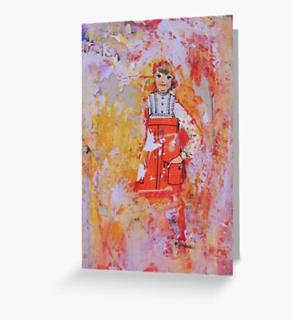 baby doll, 2010 Greeting Card
