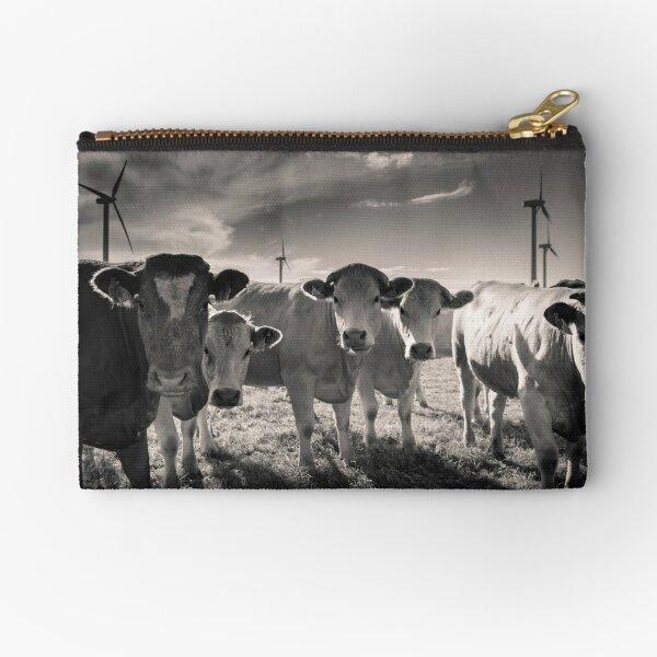 Carnsore Point Cows Zipper Pouch