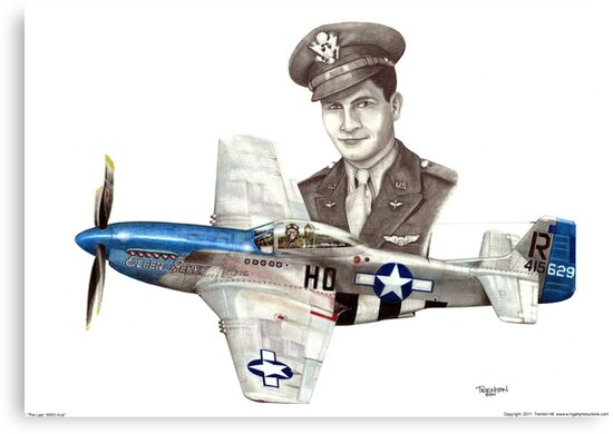 """The Last WWII Ace - Major Alden Rigby"" by Trenton Hill"