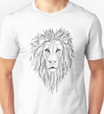 patterned lion ink drawing Unisex T-Shirt