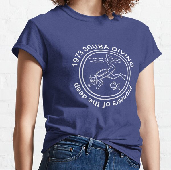 Scuba Diving Pioneers Classic T-Shirt