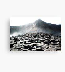 Giants Causeway Rocks Canvas Print