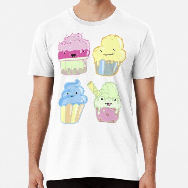 Cup cake T-shirt premium