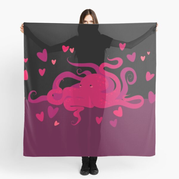 The octopus lovers Foulard