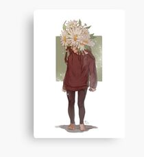 care and the daisies Metal Print