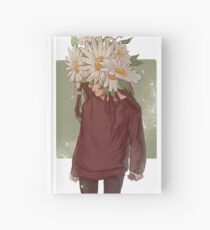 care and the daisies Hardcover Journal