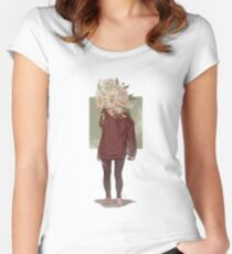 care and the daisies Fitted Scoop T-Shirt