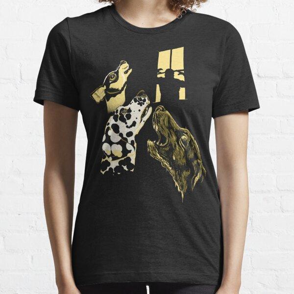 Three Dogs Window Essential T-Shirt