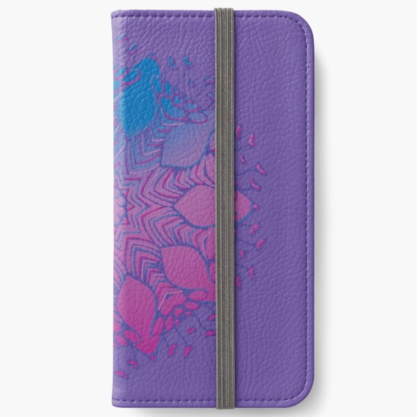 Abstract Flowerhead 16 iPhone Wallet