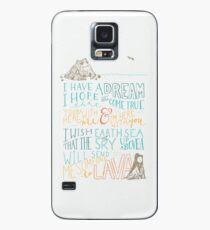Ich Lava dich Hülle & Klebefolie für Samsung Galaxy