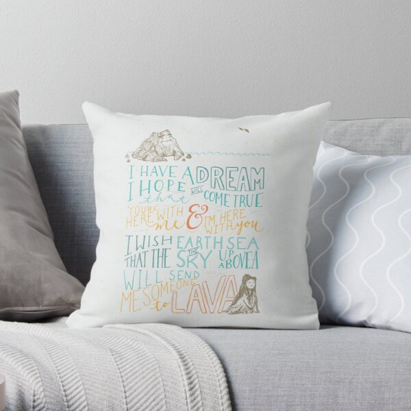 I Lava You Throw Pillow