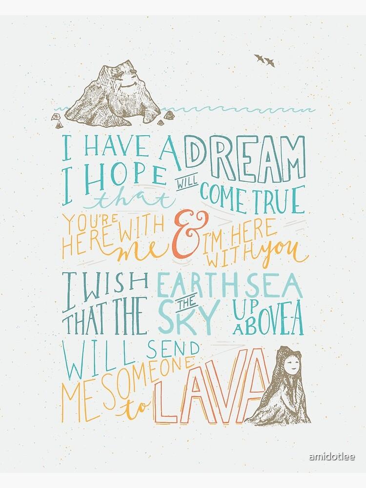 I Lava You by amidotlee