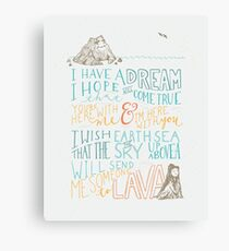 I Lava You Canvas Print