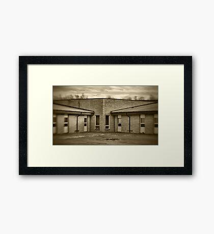 Elementary School (detail) Framed Print