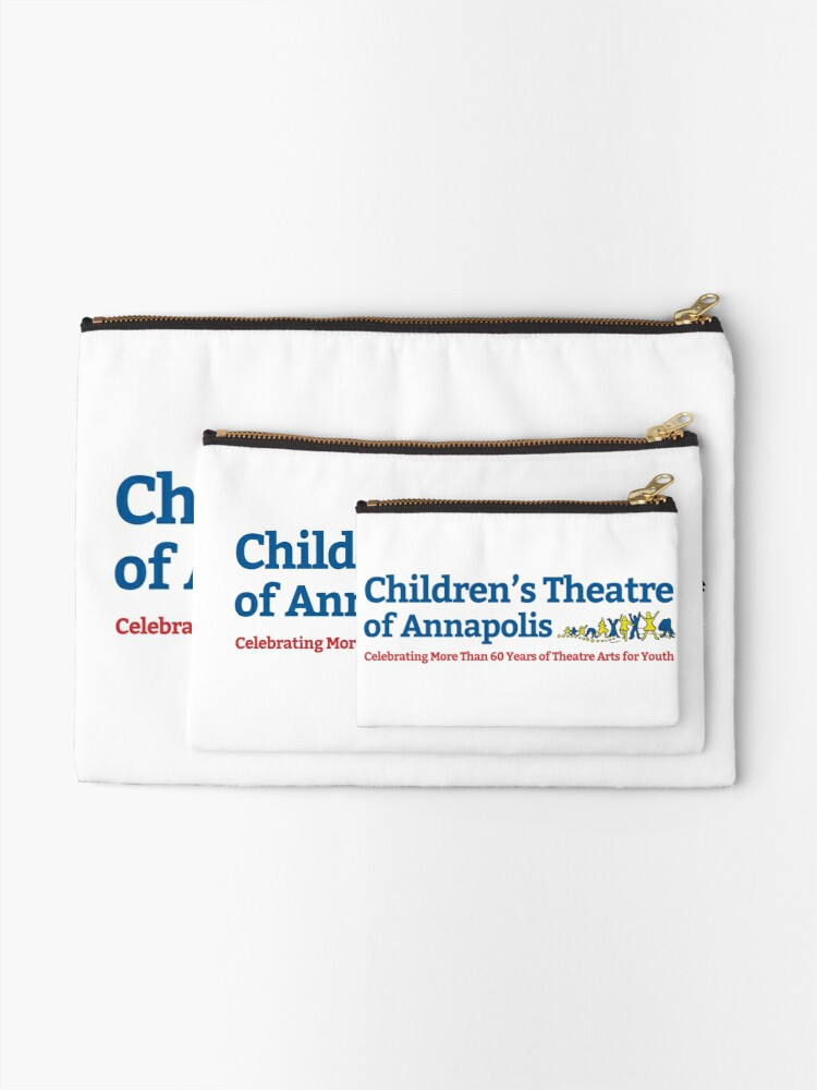 Alternate view of Children's Theatre of Annapolis Zipper Pouch