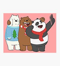 We Bare Bears Photographic Print